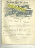 59 - Nord - LILLE - Facture FRANCOIS - Manufacture De Confection Civile Et Militaire – 1899 - France