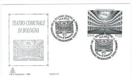 ITALIA FDC CAPITOLIUM - 20/2013 - TEATRO COMUNALE DI BOLOGNA - 6. 1946-.. Republik