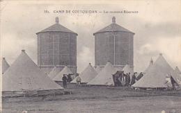 22373 Camp De COETQUIDAN (France- 56) Nouveaux Réservoirs - 352 Minvielle -  1915 Correspondance Militaire à Sa Femme - Casernes