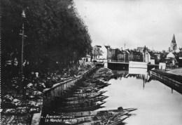 AMIENS - Le Marché Sur L'Eau - - Amiens