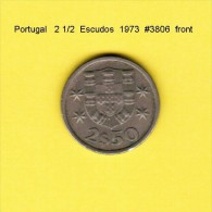 PORTUGAL    2 1/2  ESCUDOS  1973  (KM # 590) - Portugal