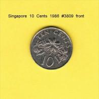 SINGAPORE   10  CENTS  1986  (KM # 51) - Singapore