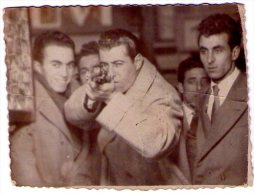 Tir Carabine. Tiro A Segno Con Foto. Schießstand. Shooting Gallery. (6X8,5) 1945. - Sports