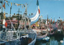 Cpsm 1976 PORT EN BESSIN, Calvados Bénédiction De La Mer, Bâteaux Pavoisés   (18.27) - Francia