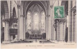 Deux Sèvres - Cerisay Ou Cerizay - Intérieur De L'église - Cerizay