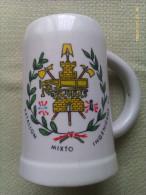 Jarra De Cerveza Batallón Mixto De Ingenieros XII. Ejército Español. España. 1966-1997 - Jarras