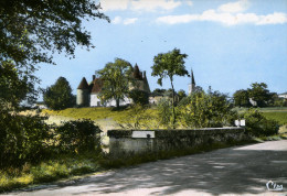 86-JOUSSE...LE CHATEAU VU DU PONT SUR LE CLAIN..... .CPSM GRAND FORMAT - Frankrijk