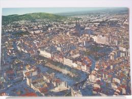 63 - CLERMONT FERRAND - VUE GENERALE, LA PLACE DE JAUDE ET LA CATHEDRALE - Clermont Ferrand