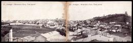 MONTEMOR-O-NOVO / ÉVORA / PORTUGAL.Postal Duplo Vista Parcial. Old Double Postcard (ALENTEJO) - Braga