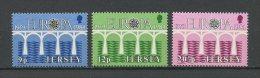 JERSEY 1984 N° 314/316 ** Neufs = MNH  Superbes Cote 2,50 € EUROPA  Postes Et Télécommunications Pont - Jersey