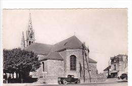22395 Riec Sur Belon, L 'eglise -66 Ed Nozais - Vieille Voiture Camionnette - France