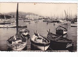 """22396 Cannes France Le Port - Estel 1611 - Bateaux Peche  """"anna """" Barque"""