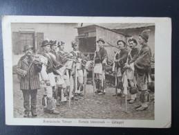 1916.   THE ROMANIAN DANCER´S  / MILITARY POST - Völker & Typen
