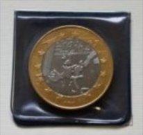 """1 Euro Precursore """"SAN GIORGIO"""" 2001,  RRRR, BI-Color, Nr. 103, M. Folder, Only 700 Ex. - Italien"""