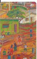 TARJETA DE BRASIL OLEO SOBRE TELA - Pintura