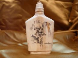 Tabatière Asiatique Ancienne - SNUFF BOTTLE - Oriental Art