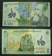 Rumänien 1 Leu                                    004 - Rumänien