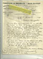 72 - Sarthe - CONNERRE - Facture MEILLANT - Fabrique De Meubles – 1919 - France