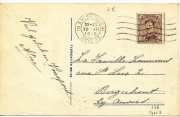 1919 Fantasiekaart  PZ136 Van Antwerpen 6 Anvers Naar Borgerhout Zie Scan(s) - 1915-1920 Albert I