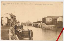 PostCard - Marchienne-au-Pont - Sambre - 1917 - Feldpost Briefstempel - Charleroi