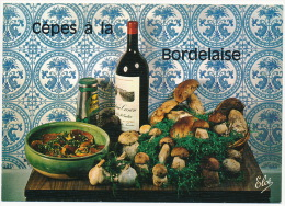Recette Recipe Food Wine Mushrooms Pilze °AK0085 - Küchenrezepte