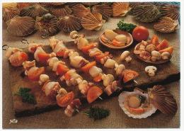 Recette Recipe Food Mussels Mushrooms Pilze Muscheln °AK0092 - Küchenrezepte
