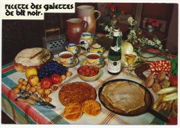Recette Recipe Food Nuts Grape Wine Old Iron Mushrooms Pilze °AK0093 - Küchenrezepte