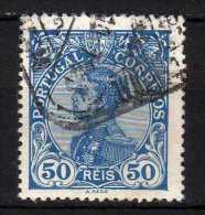 PORTOGALLO - 1910 YT 160 USED - 1910 : D.Manuel II