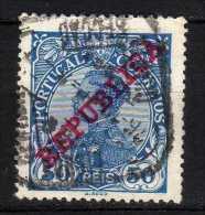 PORTOGALLO - 1910 YT 174 USED - 1910 : D.Manuel II