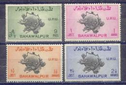 BAHAWALPUR  Série De 4 Timbres ** - Pakistan