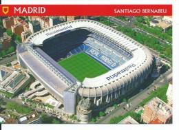 "ESTADIO - STADIUM - STADE - STADION .-  "" SANTIAGO BERNABEU "" ( ESPAÑA ) - Fútbol"