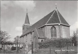 NL.- Abbega. Nederlands Hervormde Kerk. - Fotokaart - Carte Photo. - Places