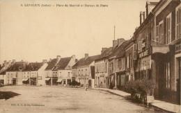 28 LEVROUX - PLACE DU MARCHE ET BUREAU DE POSTE - France