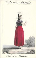 NORMANDES D´AUTREFOIS - Costume - JEUNE CAUCHOISE - France