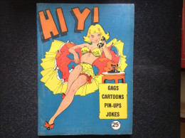 US, Vintage Gags, Cartoons Pin-ups, Joke Book - Hi Yi - Books, Magazines, Comics