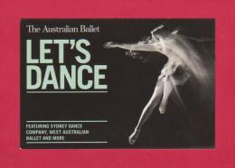Let's Danc - The Australian Ballet  -  ( W176 ) - Siehe 2 Scan - - Dans
