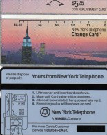 TK USA NYNEX MINT 5,25$ NEW YORK ** 12€ Skyline BY NIGHT Emprie State Building Black Text 212A L&G Card Of United States - Estados Unidos