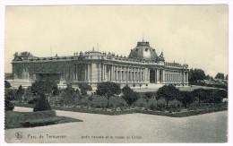 I1908 Parc De Tervueren - Jardin Français Et Le Musée Du Congo / Non Viaggiata - Foreste, Parchi, Giardini