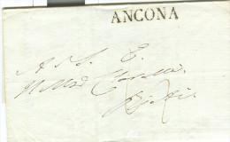LETTERA DEL NOBILE FERRETTI DI ANCONA A CONTE MONALDO LEOPARDI DI RECANATI, 1838,MATRIMONIO CONTE PIETRO LEOPARDI ,NOTA>