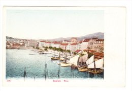 CPA - CROATIE : Spalato - Riva. - Croatia