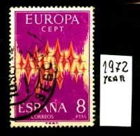 UROPA - CEPT - SPAGNA - ESPANA - Year 1972 - Viaggiato - Traveled - Voyagè - Gereist. - Europa-CEPT