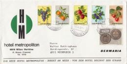 1973, LETTRE SAN MARIN,   POUR ALLEMAGNE/4950 - Lettres & Documents