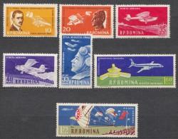 Romania 1960 Planes Mi#1861-1867 Mint Never Hinged