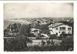 Cp, 64, Guéthary, Vue Générale Sur La Baie,  Voyagée 1948 - Guethary