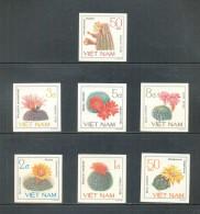 Vietnam Viet Nam MNH Imperf Stamps 1985 : Cacti / Flower (Ms462) - Vietnam