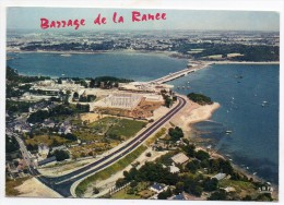 35 - Barrage De La Rance - 1re Usine Marémotrice Exploitant Les Plus Grande Différentielles De Marées Au Monde - Francia