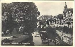 Tubingen - Neckaransicht M. Platanenallee - Tuebingen