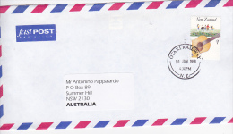New Zealand 1998 Addressed Cover To Australia - Unclassified