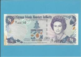 CAYMAN ISLANDS - 1 DOLLAR - 2003 - Pick 30 - COMMEMORATIVE - Islas Caimán