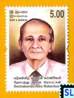 Sri Lanka Stamps 2013, Deshabandu Alec Robertson, Buddha, Buddhism, MNH - Sri Lanka (Ceylon) (1948-...)